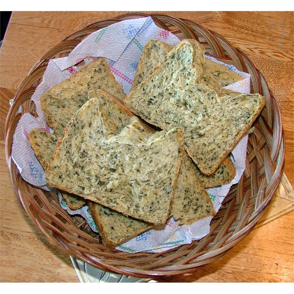 Spinach Bread Lesley