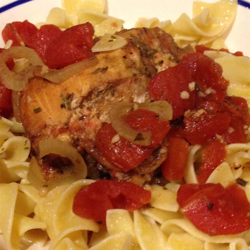 Slow Cooker Balsamic Chicken