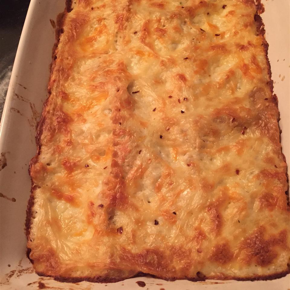 Easy Vegetarian Red Beans Lasagna
