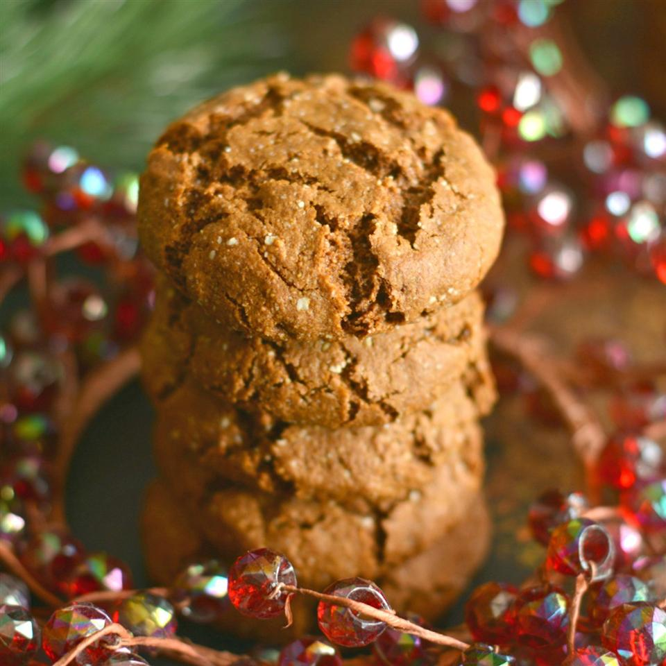 Paleo Salted Gingerbread Cookies