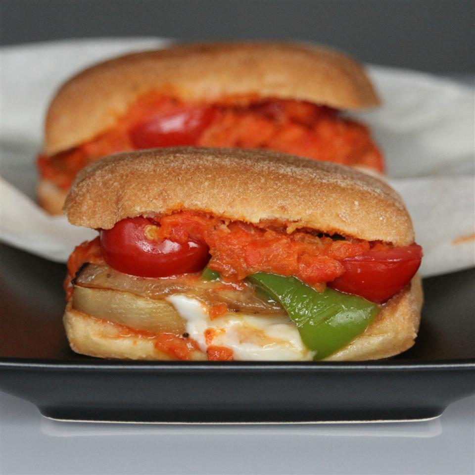 Ratatouille Sandwich