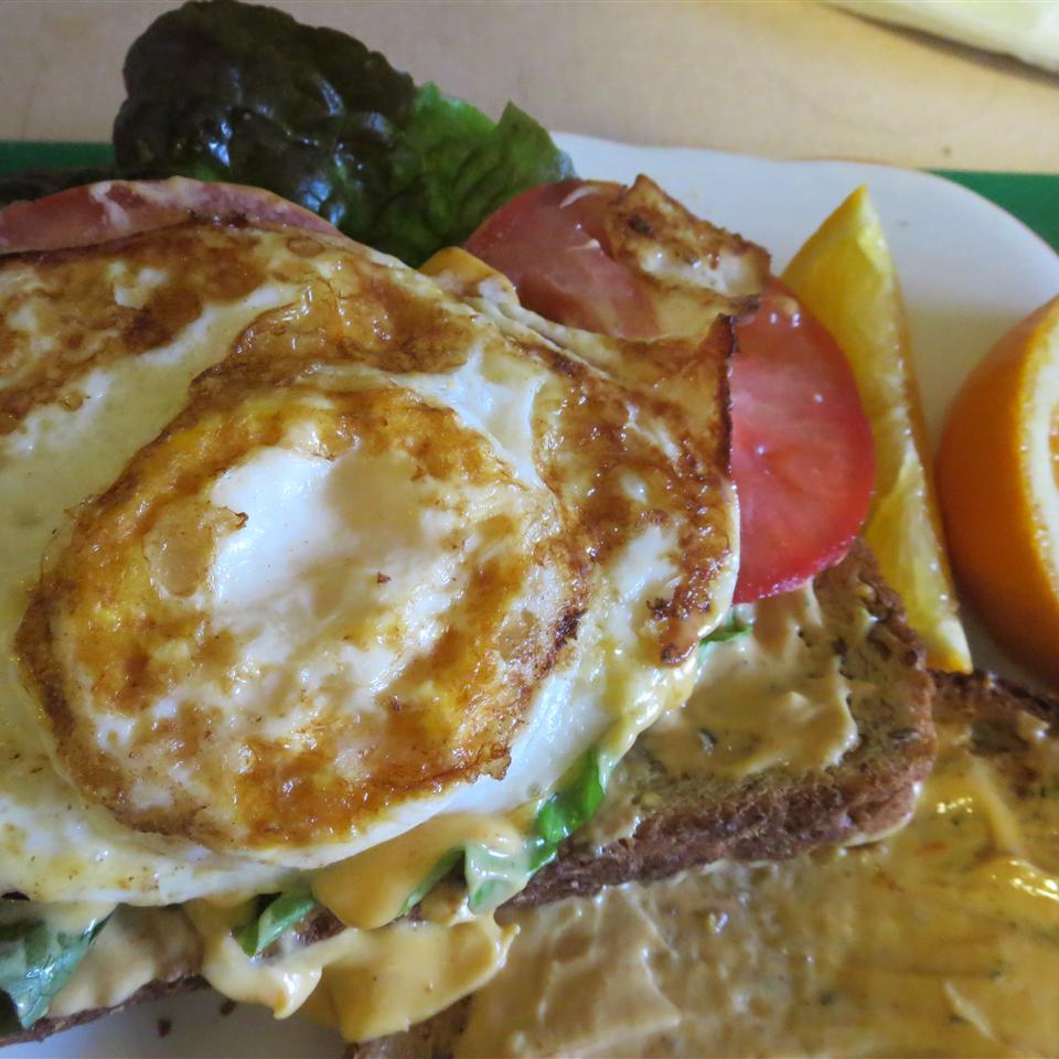 Cajun Fried Egg Sandwich Phoebe