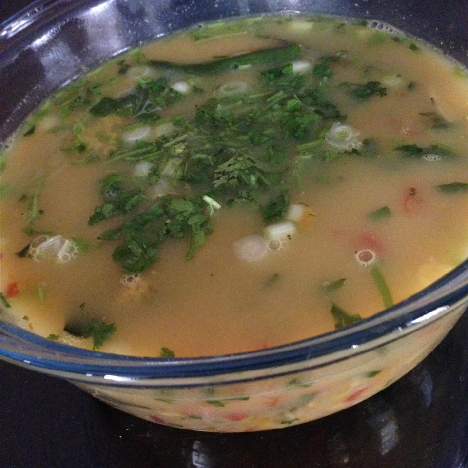 Vegetable Tom Yum Soup lama