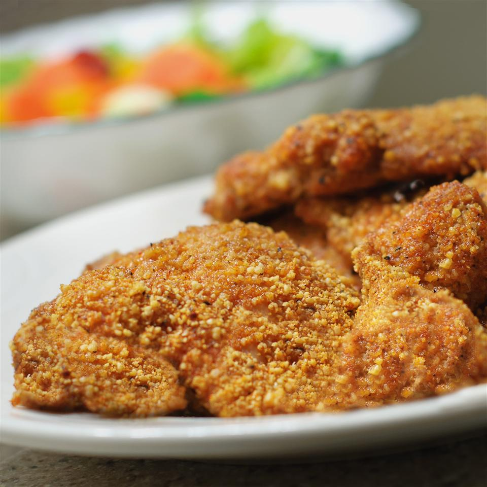 Gluten-Free Shake and Bake Almond Chicken