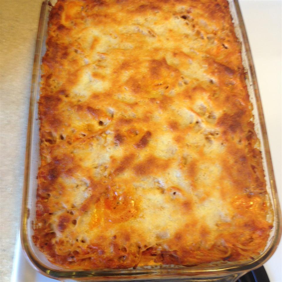 Left Over Spaghetti Lasagna