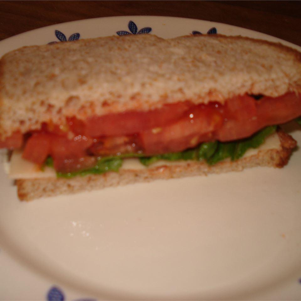 Quick Tomato Sandwich Kristen O'Brien