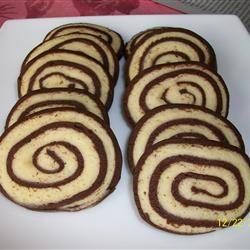 Chocolate Pinwheel Cookies Montana