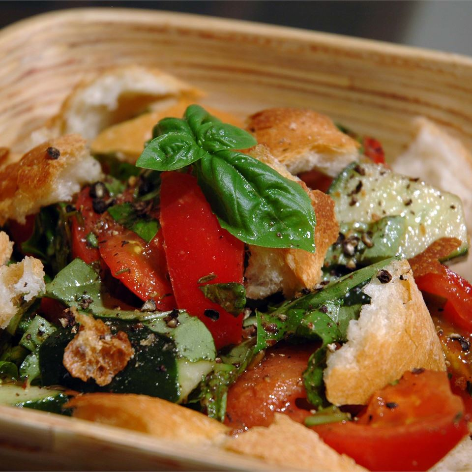 Mid Summer Italian Bread Salad Recipe Allrecipes
