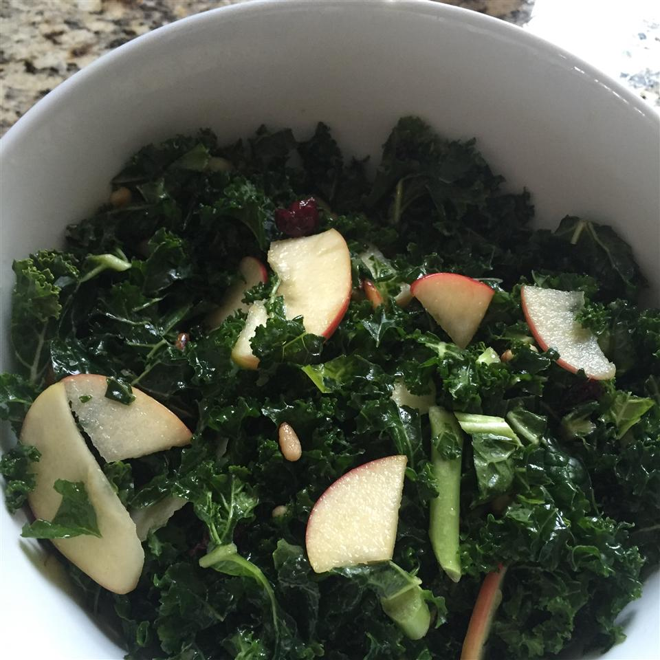 The Talk of the Potluck Kale and Apple Salad