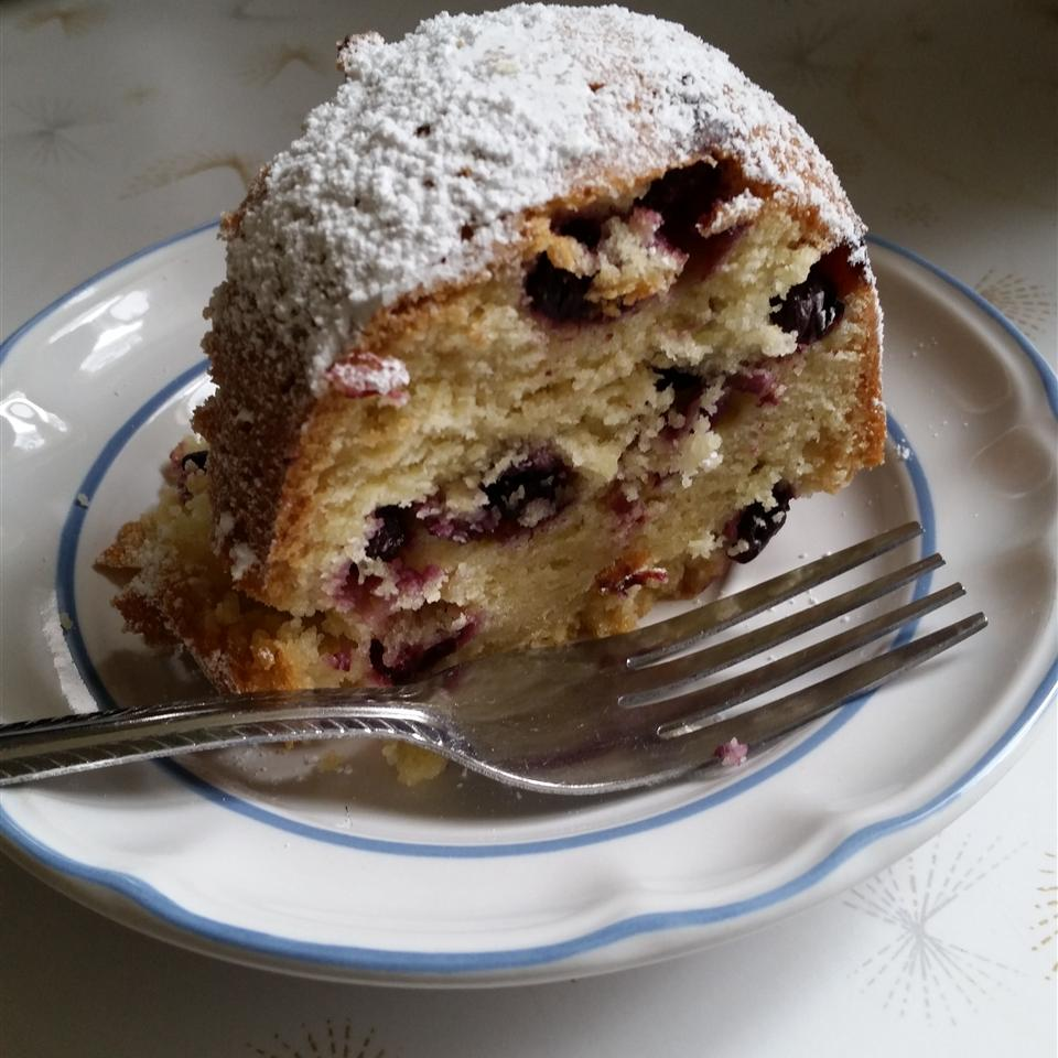 Blueberry Pound Cake Andrea Lander