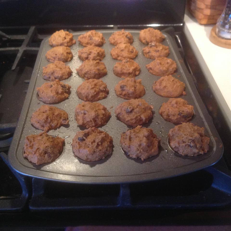 Healthier Deep Dark Old Recipe Bran Muffins