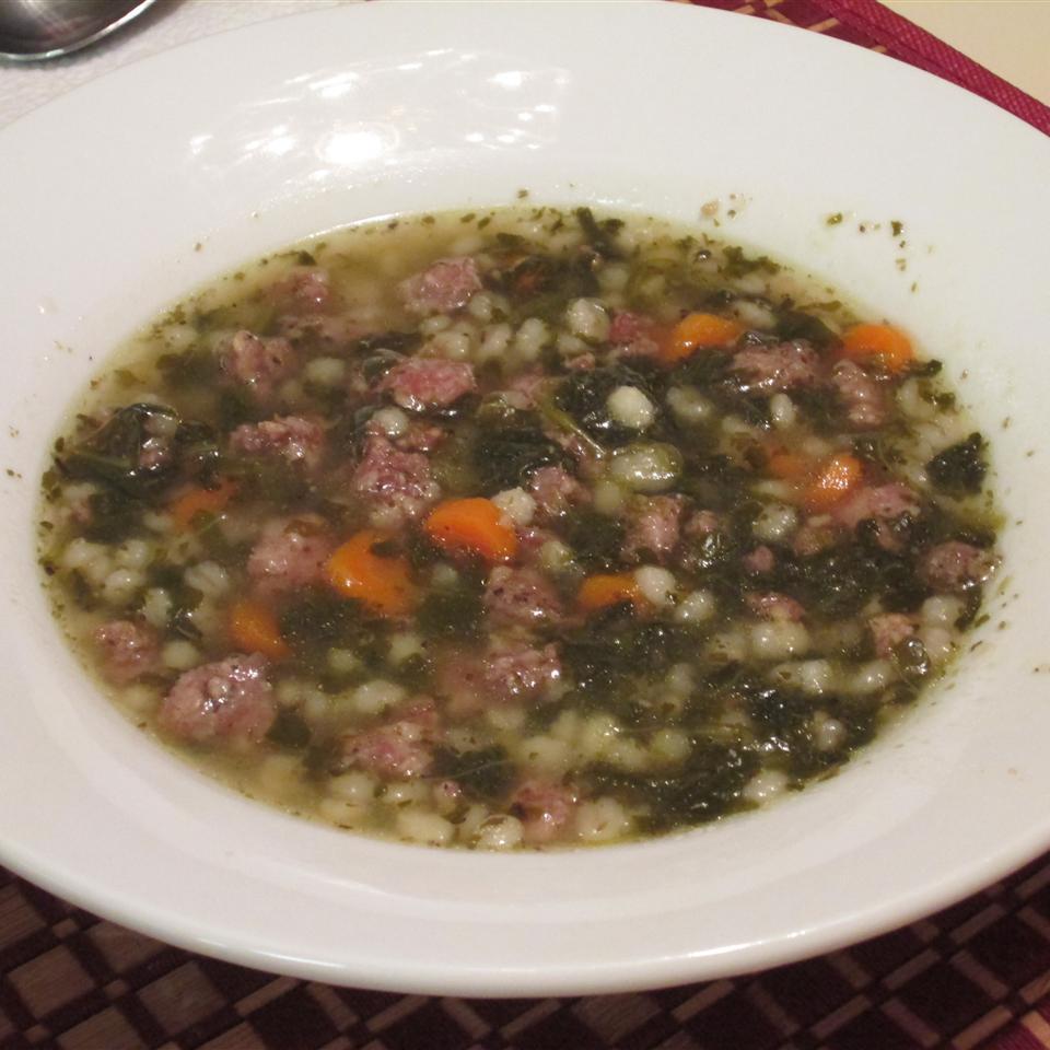 Sausage Barley Soup Leanne
