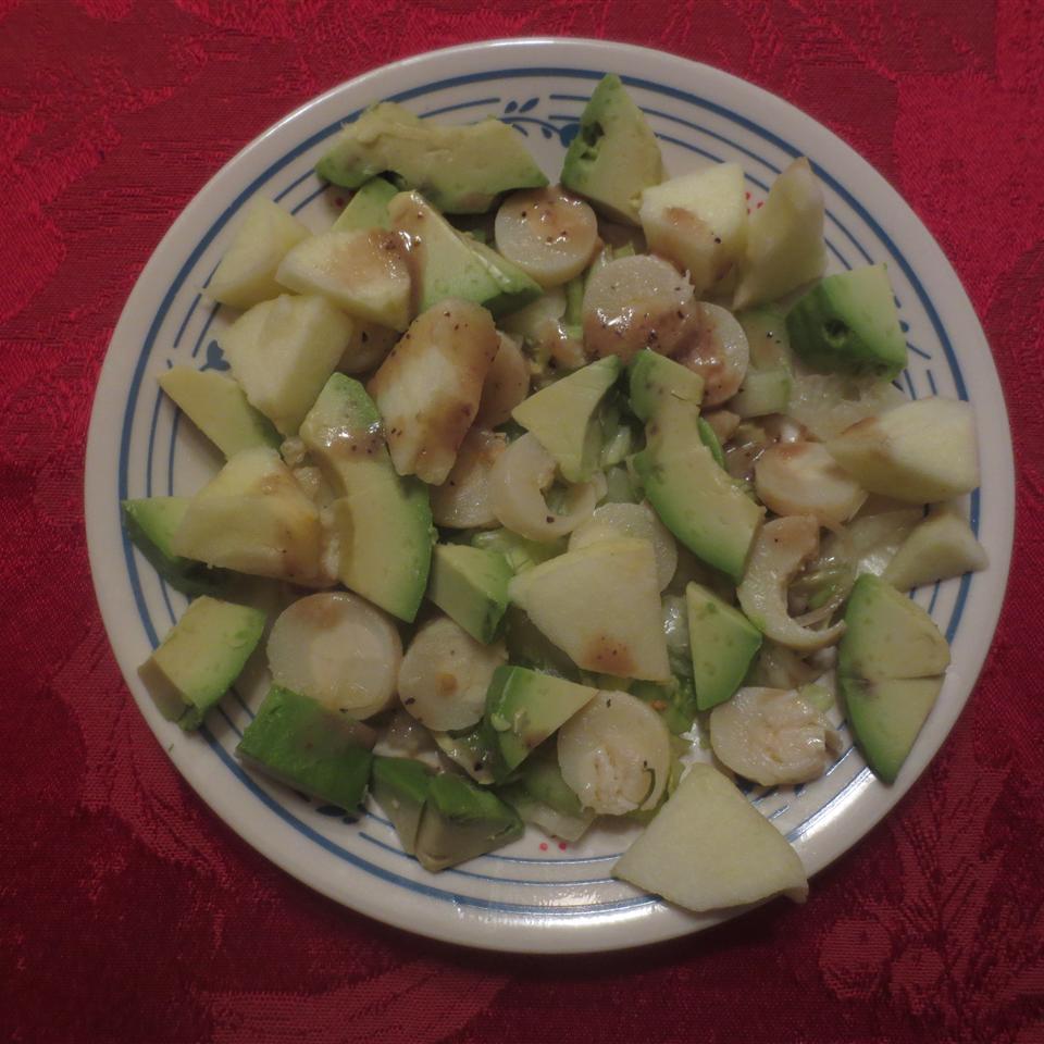 Apple, Avocado and Hearts of Palm Salad