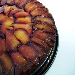 Plum Blueberry Upside Down Cake siyn
