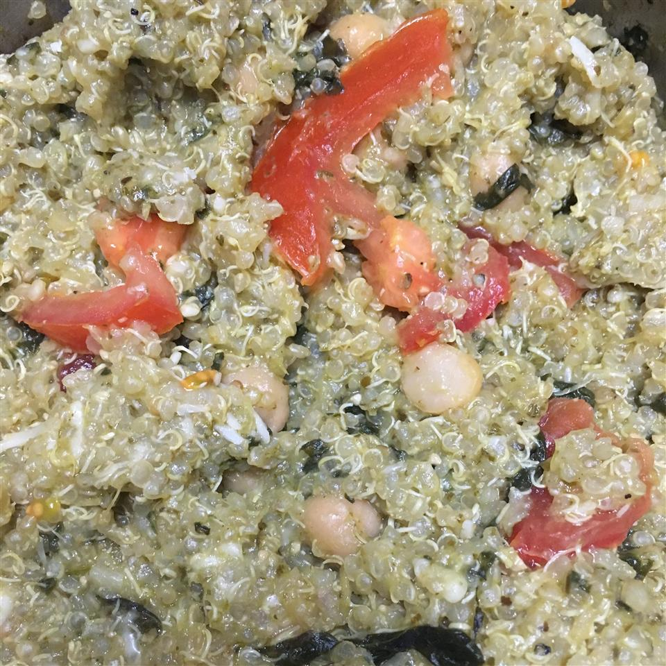 Pesto Quinoa Smash Adams