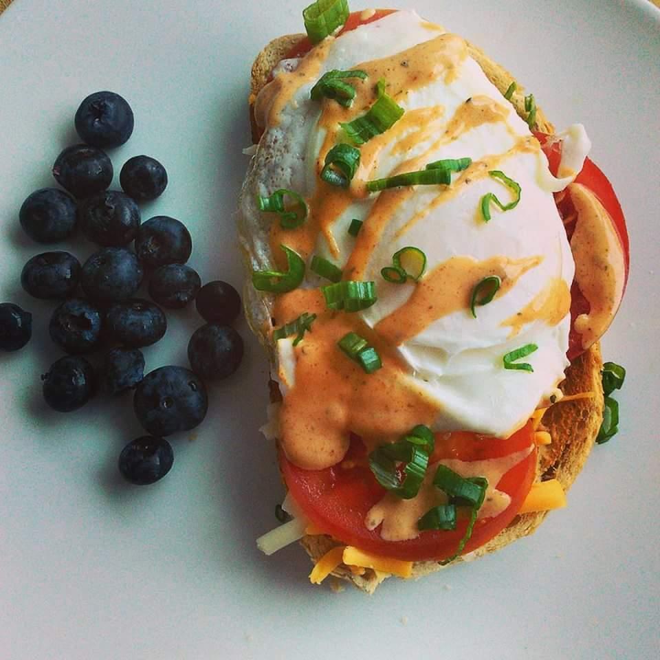 Cajun Fried Egg Sandwich Chef V