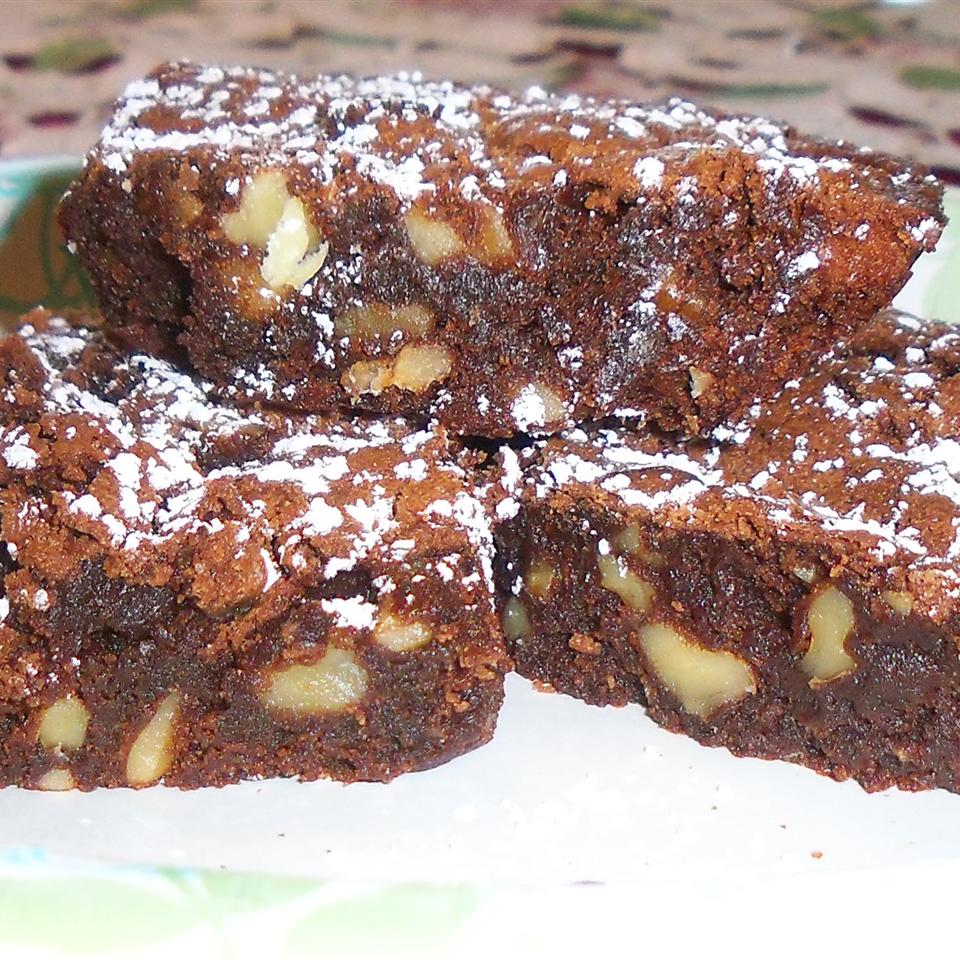 Fudge Walnut Brownies Yoly