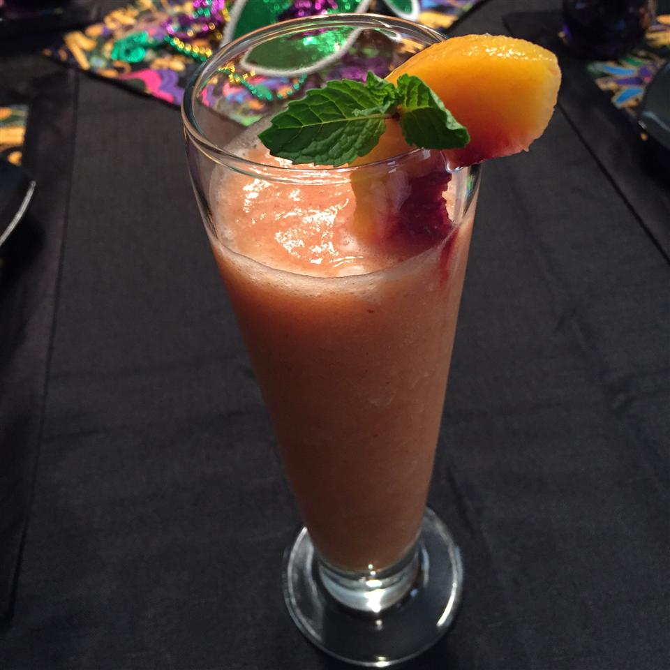 Peaches 'n Mint Juice