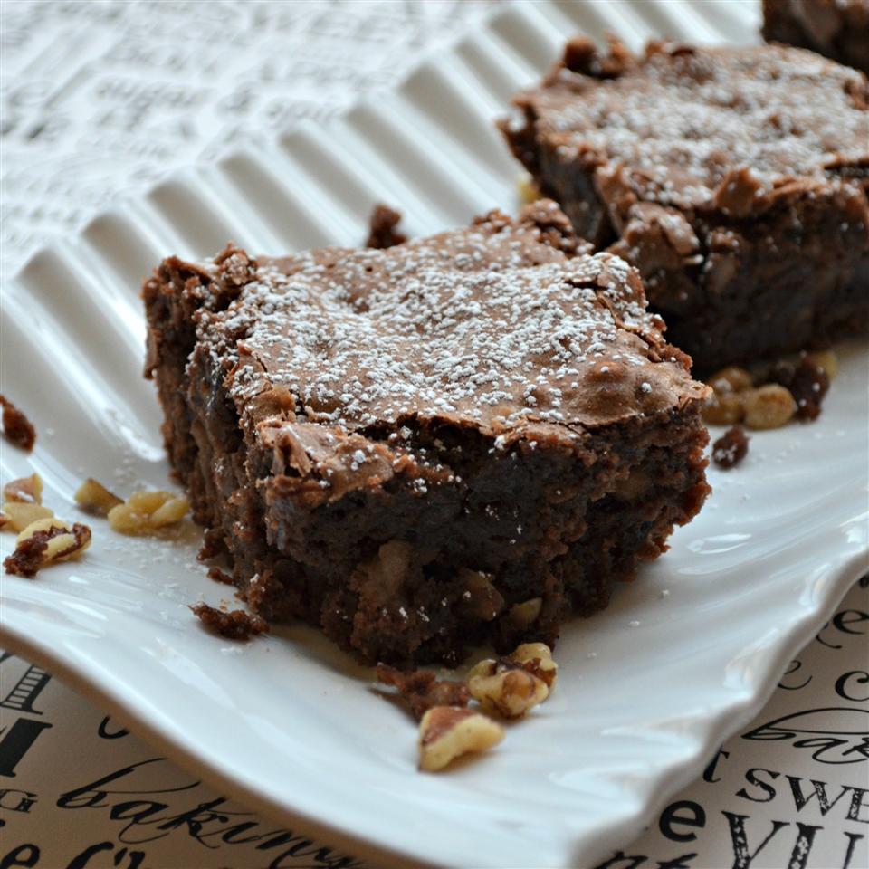 Apple Walnut Brownies