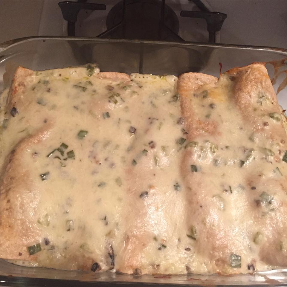 Green Chicken Enchiladas Jaime Anderson Nelson
