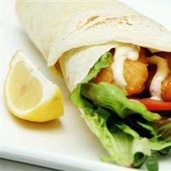 Simple Sweet and Spicy Chicken Wraps Jenni =]