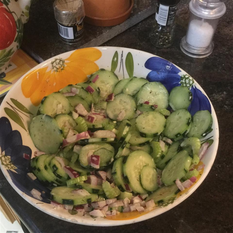 'I Hate Cucumbers!' Cucumber Salad tracy