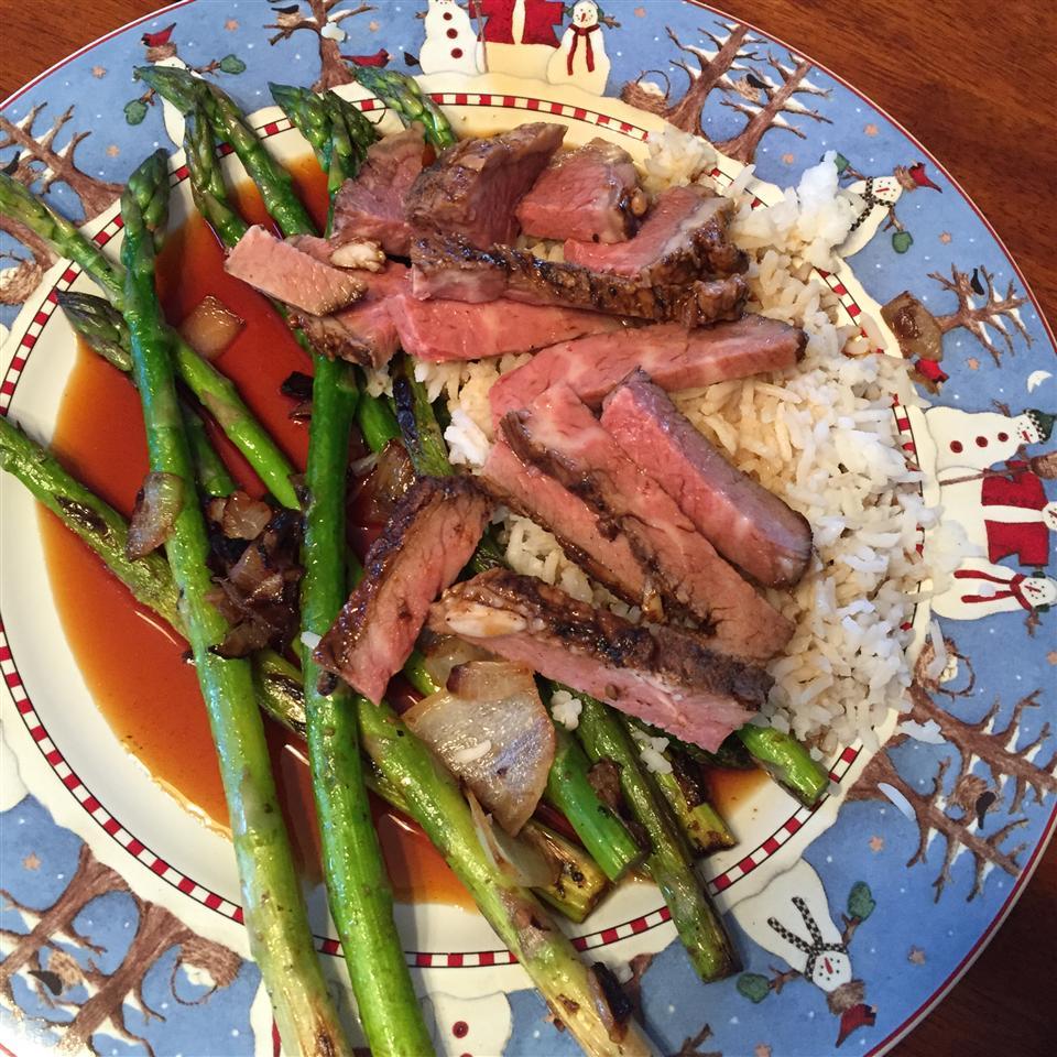 Stir Fried Asparagus L-Vogue