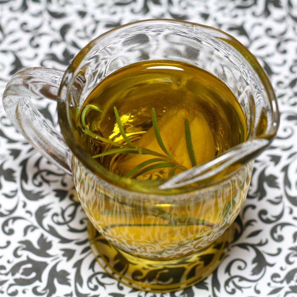 Rosemary Garlic Infused Olive Oil