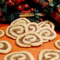 Date Nut Pinwheel Cookies I Pam Ziegler Lutz