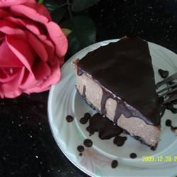 Chocolate Cappuccino Cheesecake Nisha