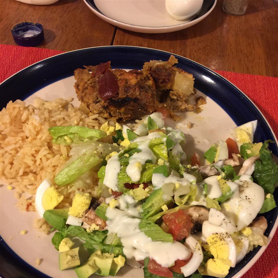 Lebanese Rubbed Salad happy