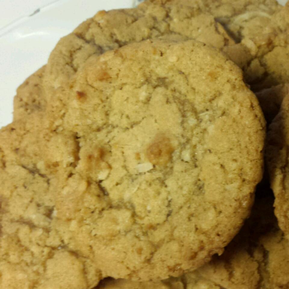 Chewy Coconut Cookies taunyanic