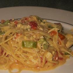 Chicken Chile Spaghetti Allie