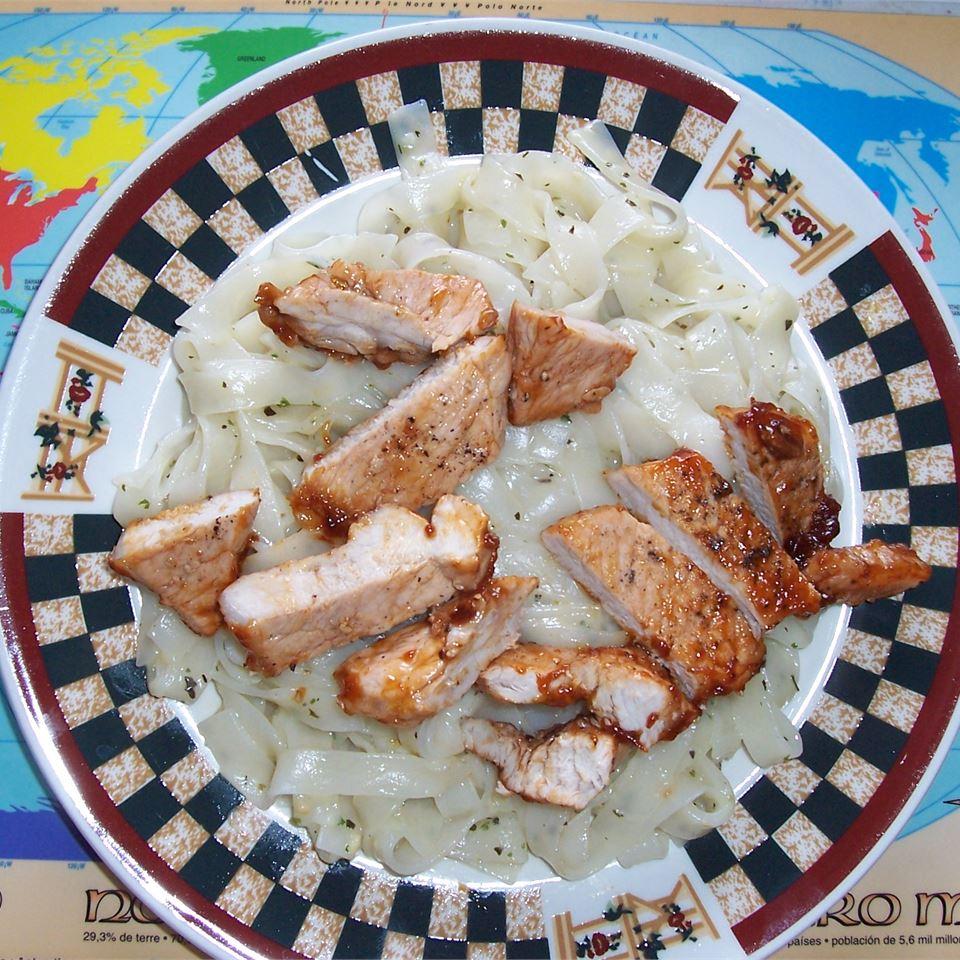 Lemon Barbeque Pork Chops G-lant