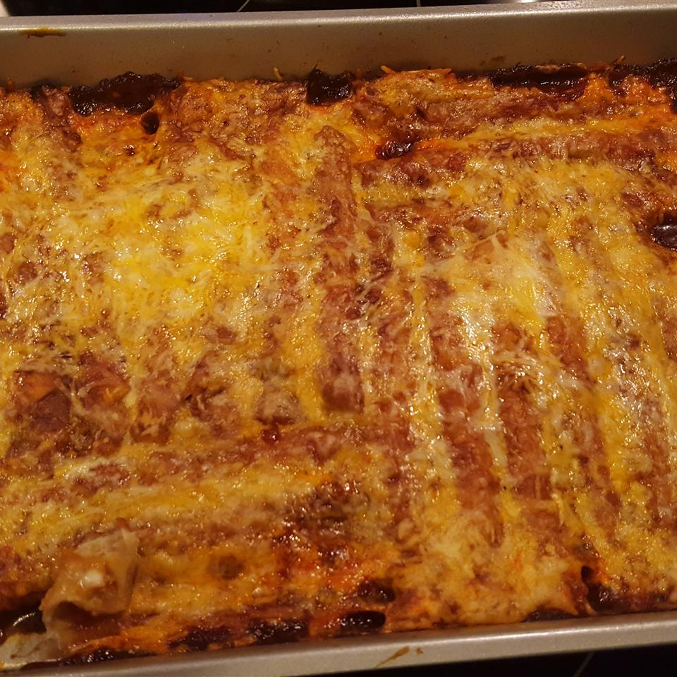 Quick and Easy 4-Ingredient Enchiladas Carlston Daniels