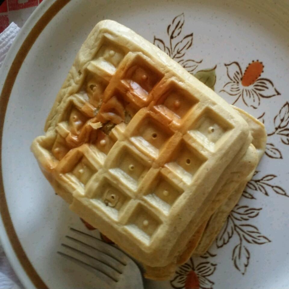 Banana Egg Waffles Paul Sedmak