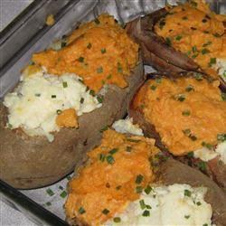 Two-Tone Baked Potatoes Janine