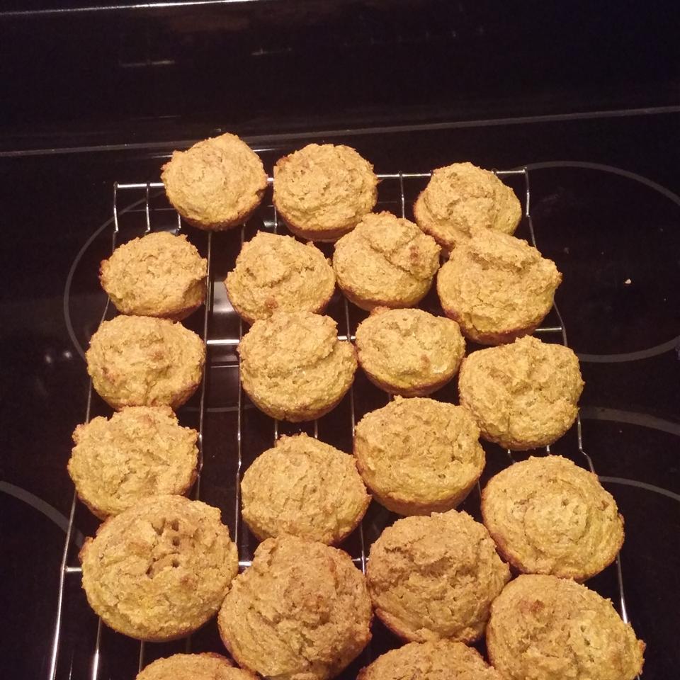 Spiced Butternut Squash Muffins Billie Hunt
