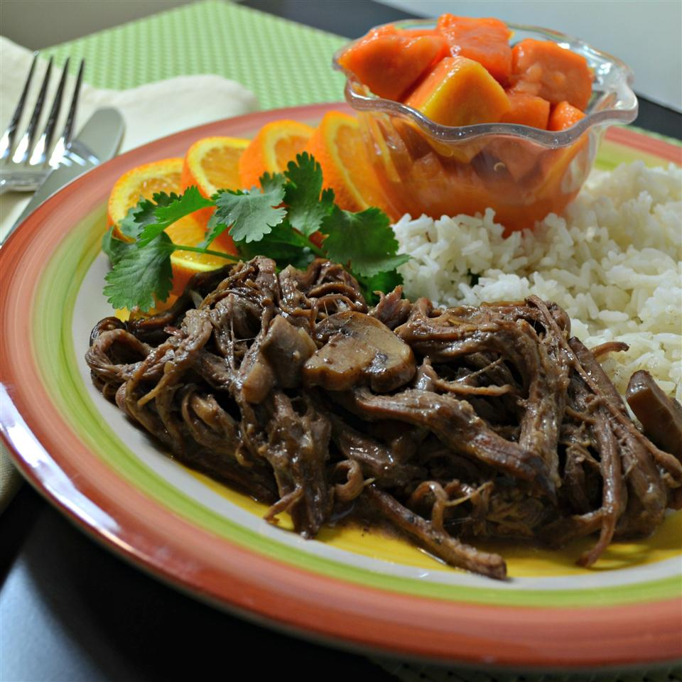 Rick's Caribbean Ropa Vieja Kim's Cooking Now