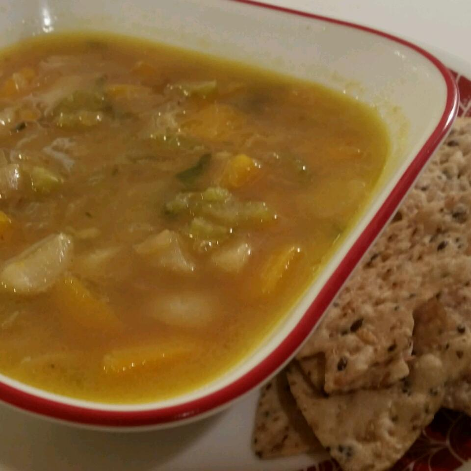 Butternut Squash and Turnip Soup RockerChick