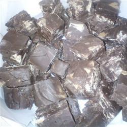 Chocolate Peanut Butter Chip Fudge Paige