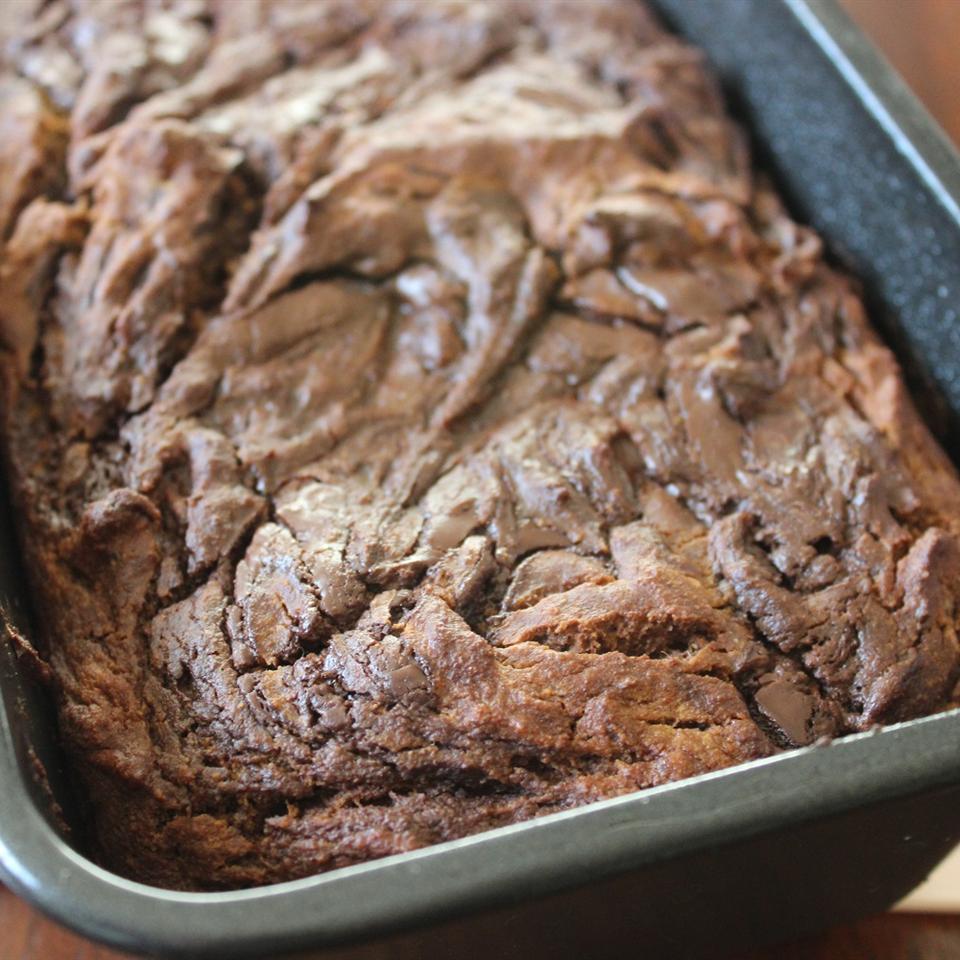 Paleo Chocolate and Cinnamon Banana Bread mommyluvs2cook