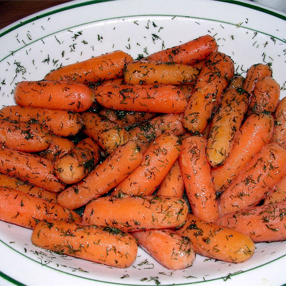 Baby Carrots with Dill Butter JNKITCHEN