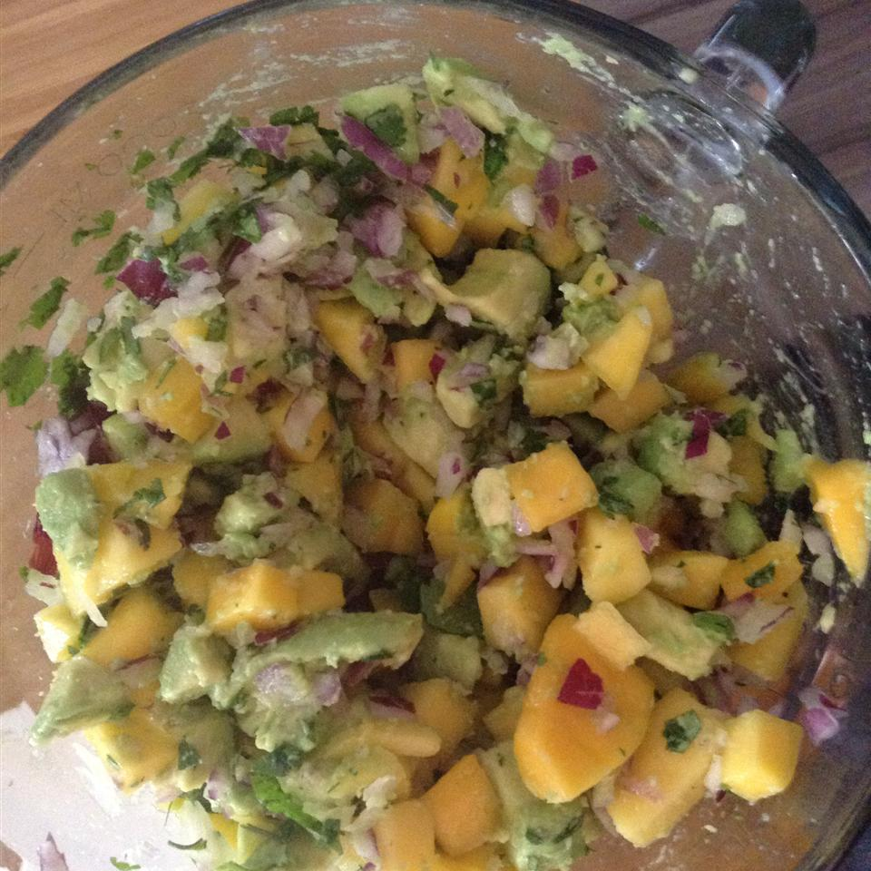 Avocado Mango Salsa Anonymous