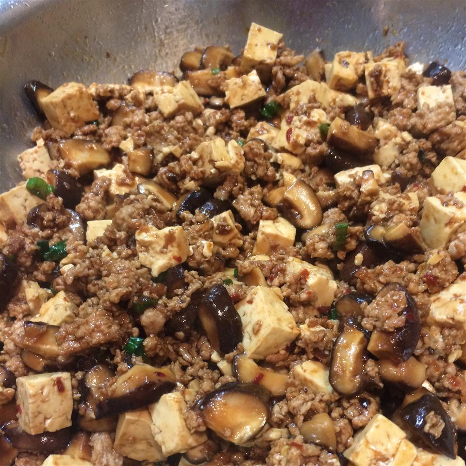 Tofu with Ground Pork Stir-Fry sswang81