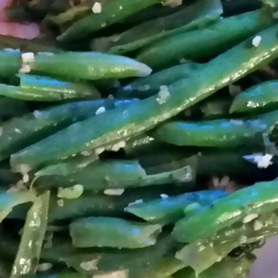 Lemon-Parsley Green Beans