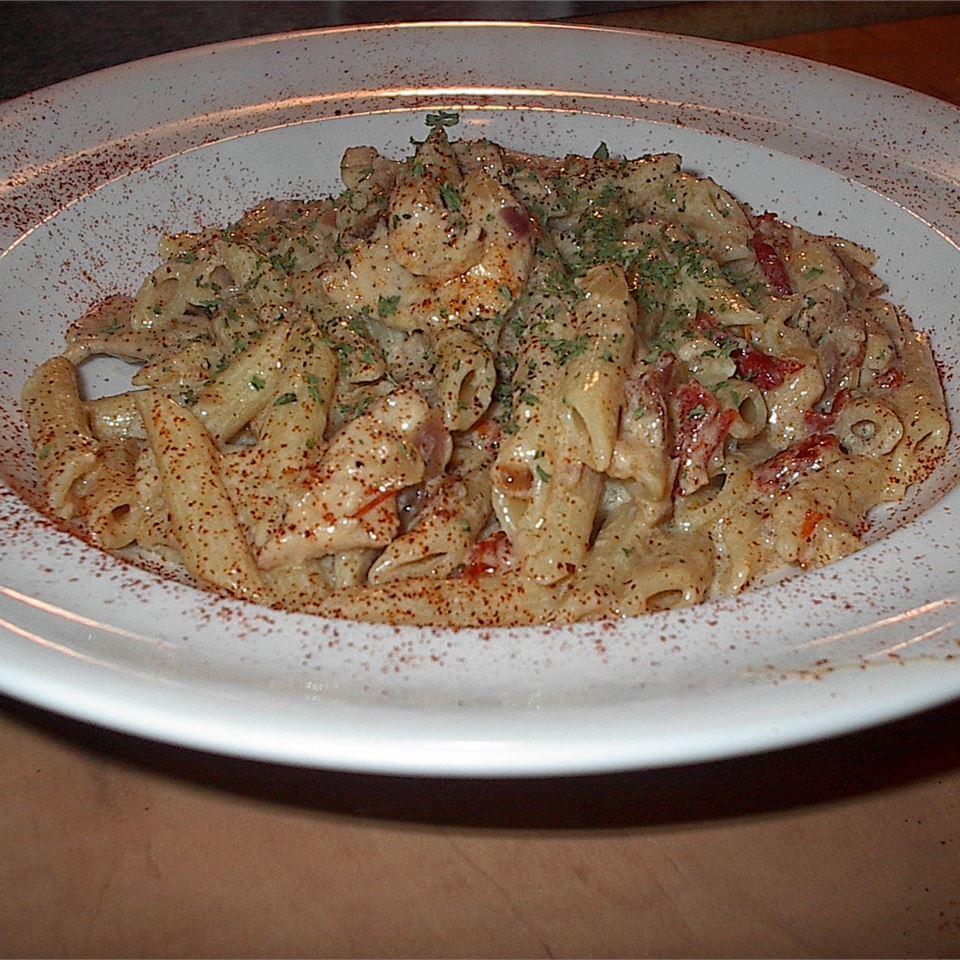 Asiago Sun-Dried Tomato Pasta