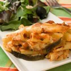 Eggplant-Ziti Parmesan Allrecipes Trusted Brands