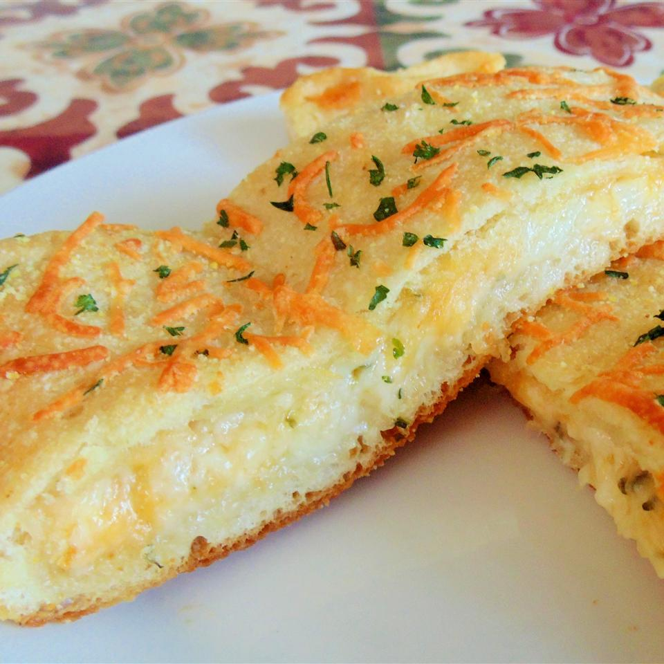 Easy, Breezy, Cheesy Stuffed Bread (Domino's® Copycat Recipe) Shannon Stone