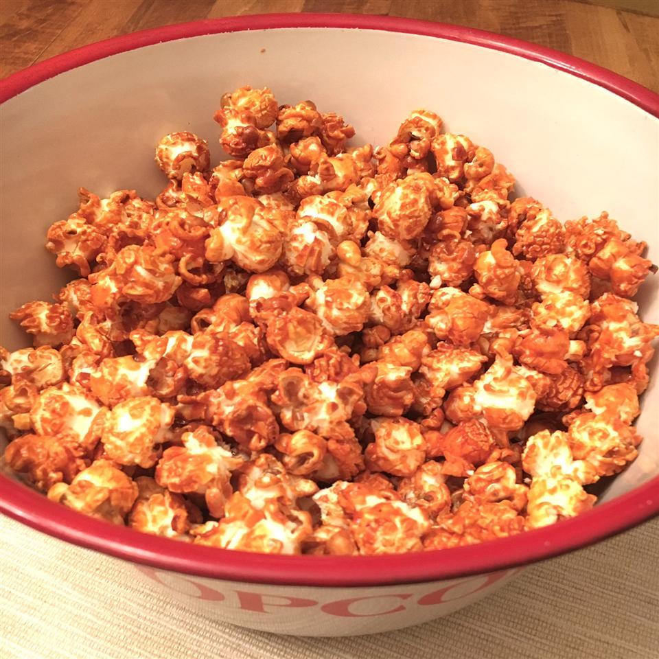 Spicy-Sweet Buffalo Popcorn